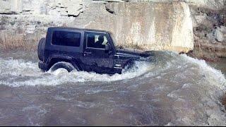 New Jeep Wrangler JK 2018 test
