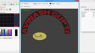 ADDING TEXT IN PIXEL ARCH GATE :: INDIA SOFTWARE