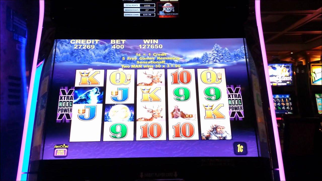 Timber Wolf Casino Slot Machine Huge Win Youtube