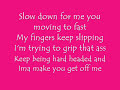 Slow Motion With Lyrics