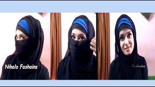How to make simple stylish  Hijab and Niqab witk burka and kamij