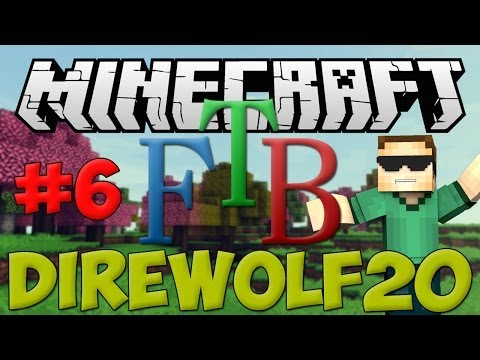 Let's Play Direwolf20: Geothermal Generator & Power Suits! (Ep. 6)