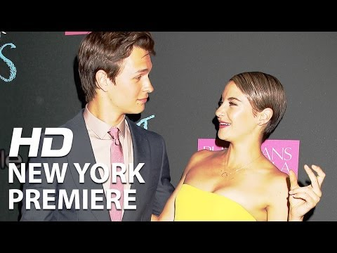 The Fault in Our Stars | New York Premiere | Official Footage HD