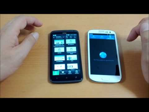 Comparativa HTC One X vs Samsung Galaxy S 3