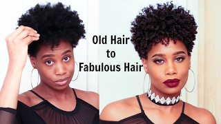Transform Dry Tapered Natural Hair | MissKenK