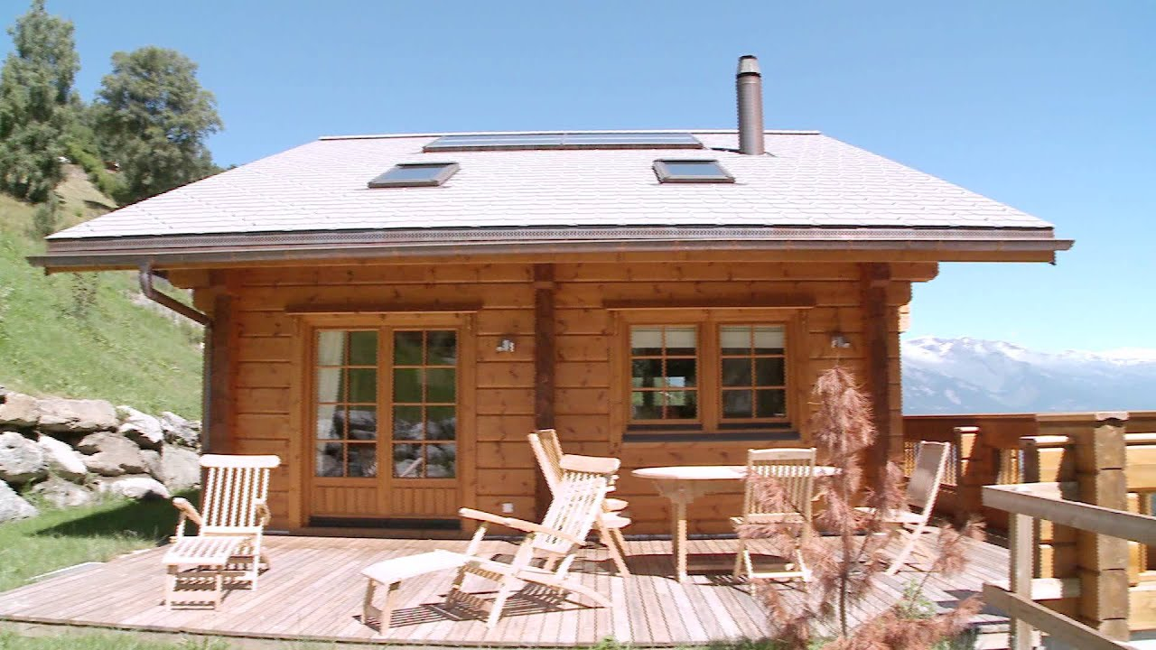 Honka chalet en bois en suisse youtube - Prix construction chalet bois ...