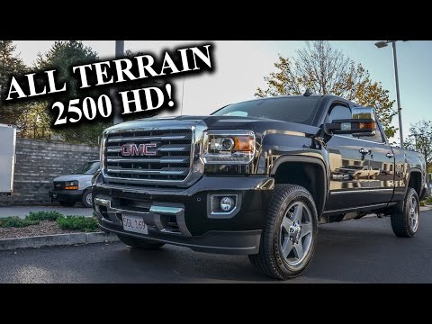 2016 GMC Sierra 2500 All Terrain HD - Quick Look!