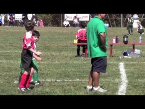 Daniels First Soccer Game