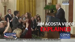 Jim Acosta: How was the White House confrontation video doctored?