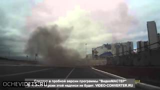 car bomb Russian Mafia hit on dashcam