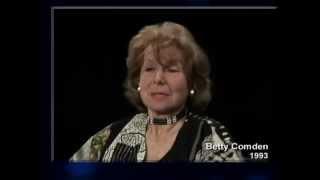 Theater Talk  Remembering Betty Comden 1