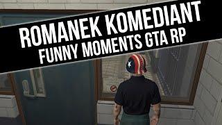 GTA RP   ROMANEK KOMEDIANT [ POŚCIG   POLICJANT   GOŁSTUJĄ ]   Funny Moments  from Fumfeel Shoty