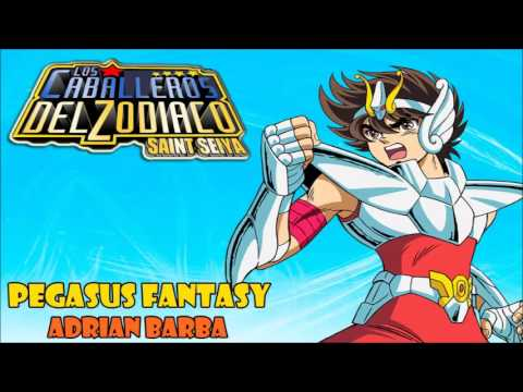 Pegasus Fantasy (Saint Seiya Opening 1) Cover Latino By Adrian Barba