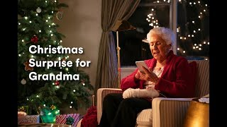 An Unexpected Christmas Surprise for Grandma