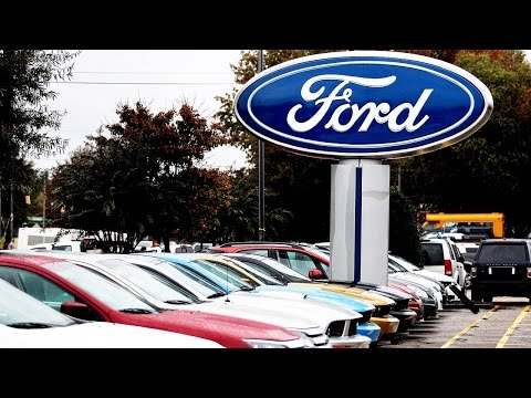 Ford's Stock Slumps Despite Record Results for 2015