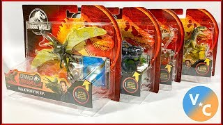 Jurassic World DINO RIVALS Wave 1 Attack Packs Review