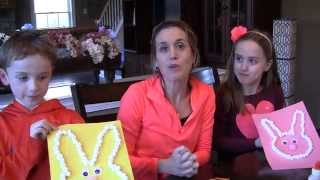 Easter Bunny Marshmallow Craft
