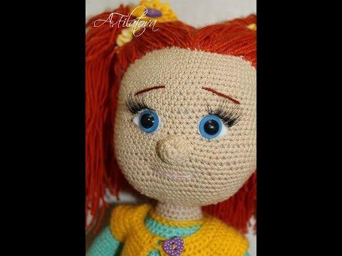 Видеоурок вязания крючком кукол 33