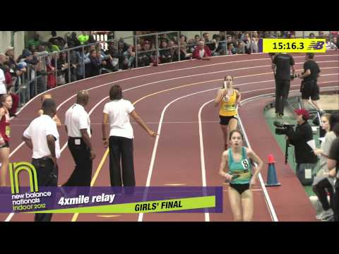 G 4xMile H03 (part 2 Adrenaline Tc-De 20:00.97 * #2 all-time, HS Indoor Nationals 2012)