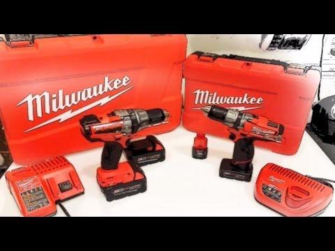 MILWAUKEE FUEL M12 VS M18 DRILL TEST