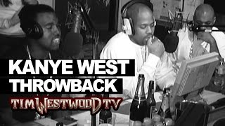 Kanye West freestyle 2004 never seen before! Westwood Throwback with Dame Dash & Biggs