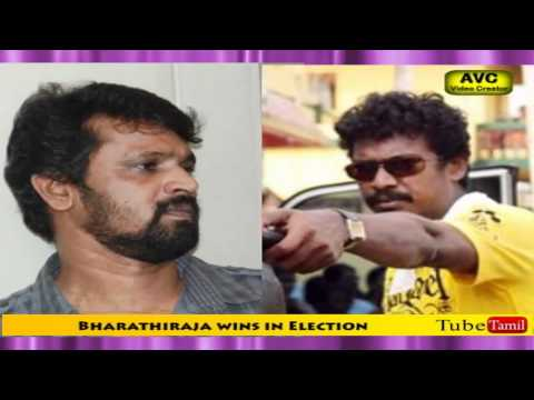 Bharathiraja wins in Election