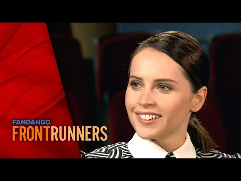 Felicity Jones - The Theory of Everything | Fandango FrontRunners Season 3 (2015)