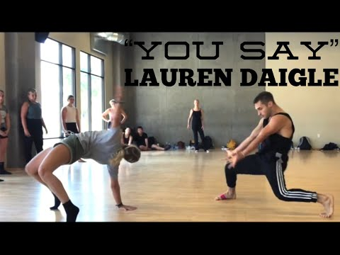 You Say Lauren Daigle Choreography By Derek Mitchell At Edge Pac In LA
