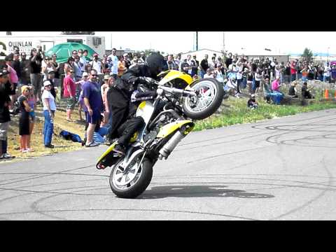 Motorcycle Rider Stunt Guy