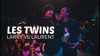 LES TWINS | LARRY VS LAURENT (everytime they faced each other)