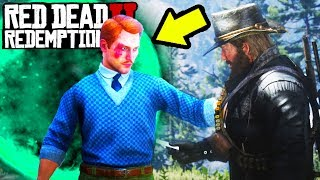TIME TRAVELING PORTAL FOUND in Red Dead Redemption 2! Time Travel Easter Egg In RDR2!