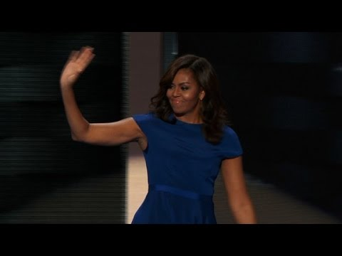 Michelle Obama's entire Democractic convention speech