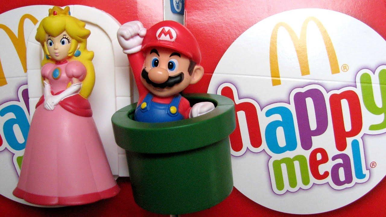 McDonalds Super Mario Happy Meal YouTube