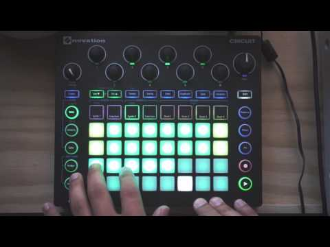 Novation Circuit Tip//005 - One Finger Chord Recording