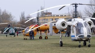 HA-MZX, HA-MRC, Kamov Ka-26 - test flights