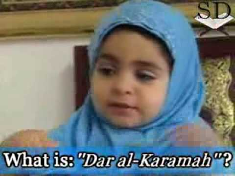 2 Year Old Muslim Girl Answers Questions On Islam video