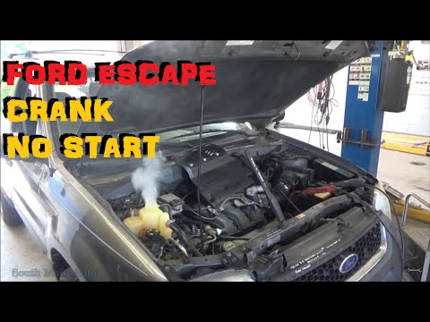 Ford Escape: Crank No Start