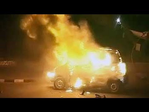 Delhi accidents: CNG kit of car explodes on collision, two injured