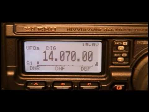 Ham Radio Deluxe talks to FT-897D