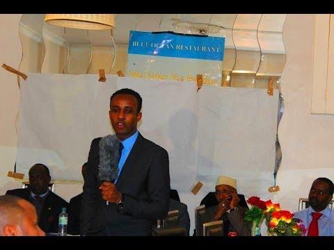 Cali Aar Warbixin gabdho dagan London oo tageeray Dowlada Somalia