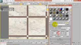 54 Как настроить Vray материал мрамора в 3d max Настройка материла мрамора в 3d max