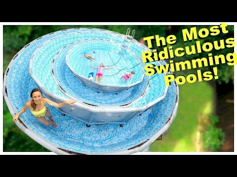 FILLING OUR POOL WITH SWIMMING POOL!! 🙄 thumbnail