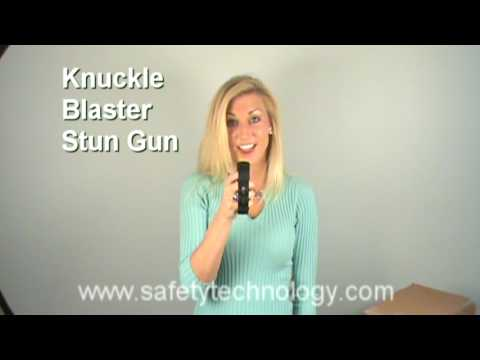 Blast Knuckles Stun Gun - Watch the Blast Knuckles fire.