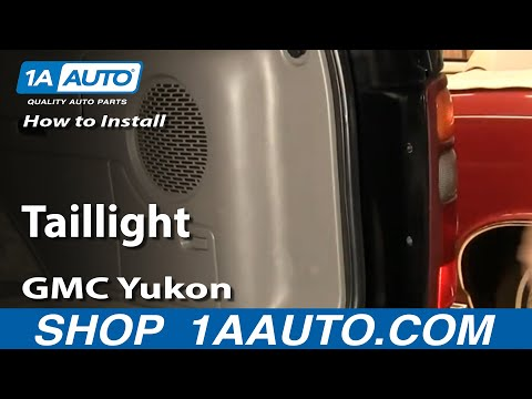 How To Install Replace Taillight Chevy Tahoe Suburban GMC Yukon 00-06 1AAuto.com
