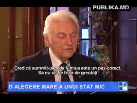 Arnold Ruutel: Moldovenilor nu trebuie să le fie frică de Europa