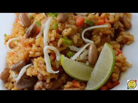 Mexican Tomato Rice with Beans