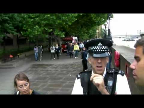 Hilarious love police London