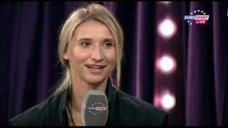 26.10.2012 WTA Championships Istanbul; Interview with Tatiana Golovin about her retirement...