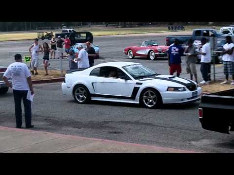 2011 Golden Girls Car Show (Loudest Exhaust Competition) Truck blows his motor.