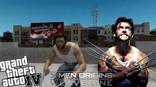 GTA IV LCPDFR X-Men Wolverine Mod Police Patrol - Police Steal my Car